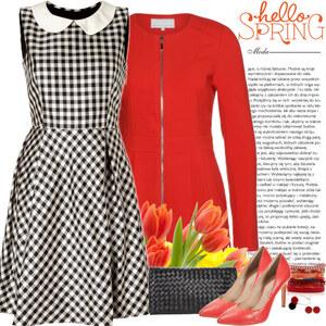 Outfit hello spring von Ania Sz