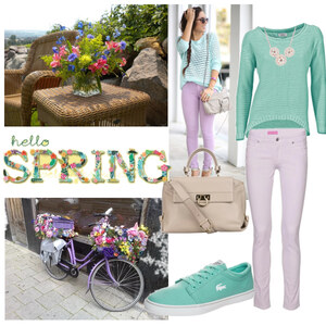 Outfit pastell im Frühling von Claudia Giese