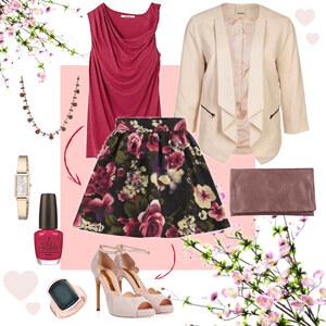 Outfit Pastelred Spring von Annik