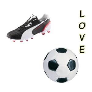 Outfit footbal love von