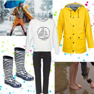 Tenue Sous la pluie sur Clara
