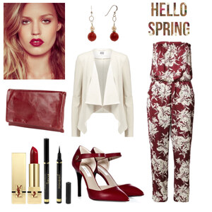 Outfit red von Claudia Giese