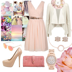 Outfit pastell von Claudia Giese
