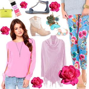 Outfit Flröhlich Bunt von Lesara
