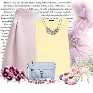 Outfit pastelowa wiosna von Ania Sz