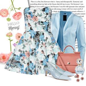 Outfit blue spring von Ania Sz