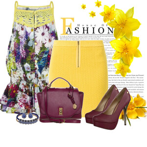 Outfit yellow spring von Ania Sz