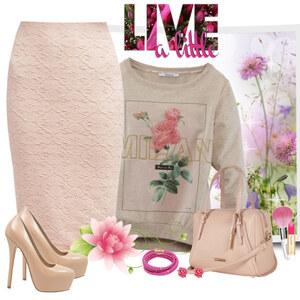 Outfit rose von Ania Sz