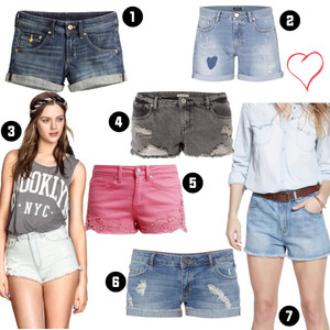 Outfit Tolle Jeansshorts  von domodi