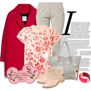 Outfit wiosenne kwiaty von Ania Sz
