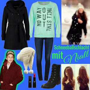 Outfit schneeballschlacht mit niall von Lisa Bunzel