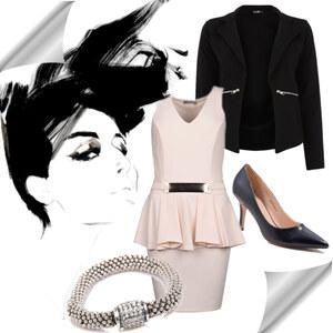 Outfit élégance von Lesara