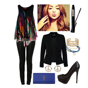 Outfit get the party started von Claudia Giese