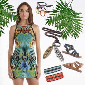 Outfit Exotisch von Lesara