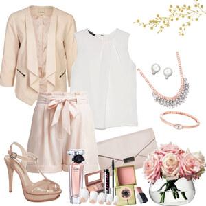 Outfit eleganz in rosé von Natalie