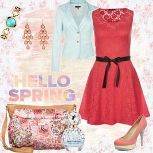 Outfit Orange Spring von Mbali