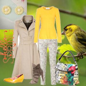 Outfit Narzissen im Frühling... von Mbali
