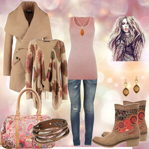 Outfit Desigual -Style von Mbali