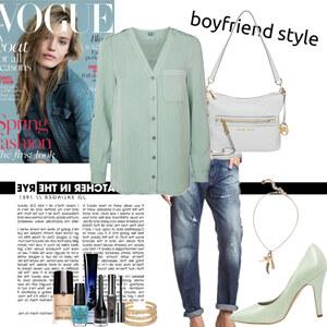 Outfit boyfriend style von Natalie