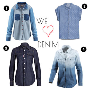 Outfit Jeanshemd mal anders! von domodi