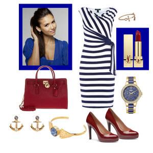 Outfit maritim von Claudia Giese