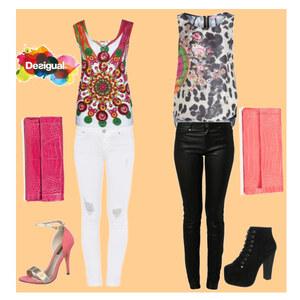 Outfit desigual von Claudia Giese