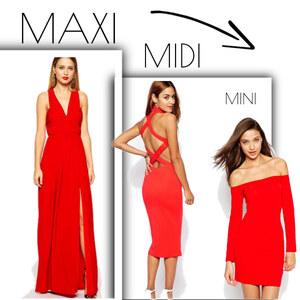 Outfit Maxi Midi Mini von domodi