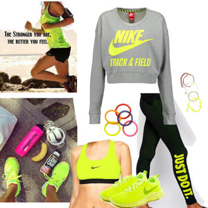 Outfit stay strong - stay fit von Natalie