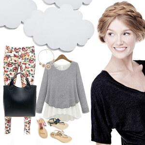 Outfit Luftig Leicht von Lesara