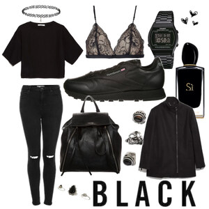 Outfit All Black Everything von marie