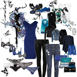 Outfit Blue Nights von Monika Burandt