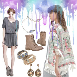 Outfit Frühlings Farben von Lesara
