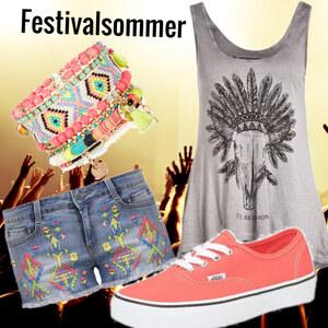 Outfit Festivalsommer #1 von Eva-Marie Wülk