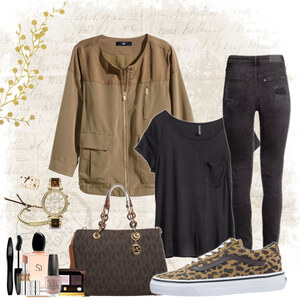 Outfit eyecatcher leoprint shoes von Natalie