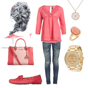 Outfit corall von Claudia Giese