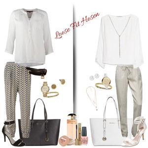 Outfit Loose Fit Hosen von Natalie