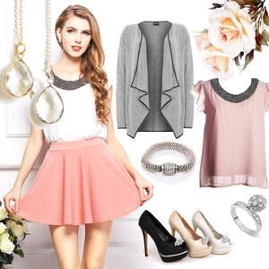 Outfit Verspielt schön von Lesara