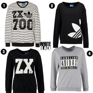 Outfit B&W Adidas von domodi