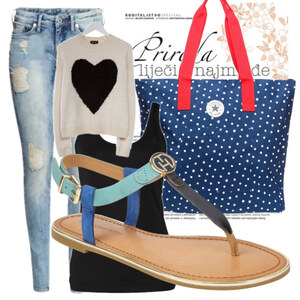 Outfit Blau Stadt Outfits  von CC-Fashion