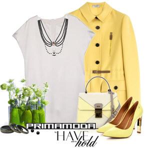 Outfit yellow and white von Ania Sz