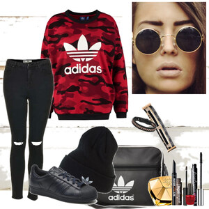 Outfit cool street and relaxing style von Natalie