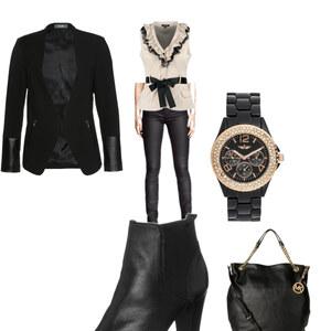 Outfit black von Anna-Janina Reinertz