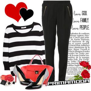 Outfit love primamoda von Ania Sz
