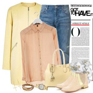 Outfit street style von Ania Sz