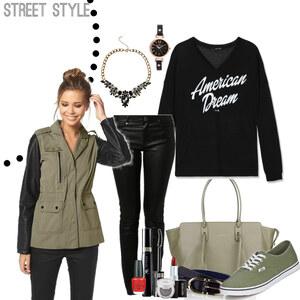 Outfit street style von Natalie