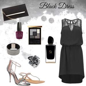 Outfit Black Dress von Miry