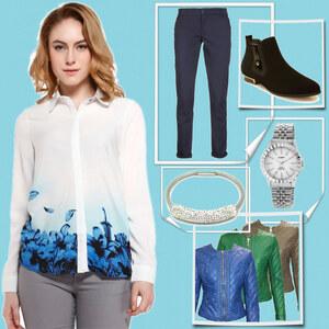 Outfit Locker und frisch von Lesara