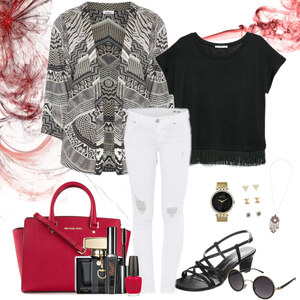 Outfit bohemian coolness von Natalie