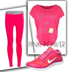 Outfit Pink power von domodi