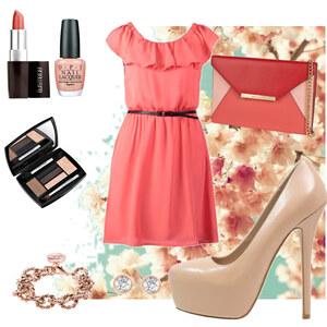 Outfit Frühlings Kleid von Frabau2509